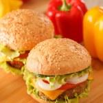 Hamburger — Stock Photo