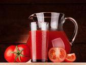 Rajčatová šťáva — Stock fotografie
