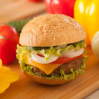 Hamburger — Stock Photo #36035917