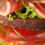Big sandwich — Stock Photo #36036155