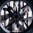 Stock Photo: Cpu fan