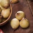 Yellow pears — Foto Stock
