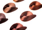 Tingido mechas de cabelo — Foto Stock