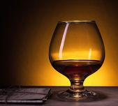Cognac glass — Stock Photo