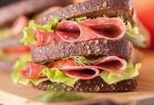 Big sandwich — Stock Photo