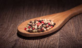 Spices in spoon — Stock Photo