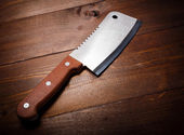 Butcher knife — Stock Photo