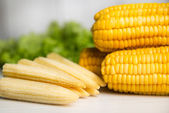 Sweet corn — Stockfoto