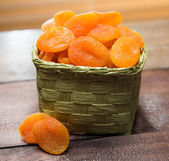 Dried apricots — Foto Stock