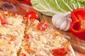 Sliced pizza — Stock Photo