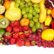 Huge group of fresh vegetables and fruits — Stock Photo #12830389