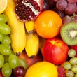 Huge group of fresh fruits — Stock Photo #12830905