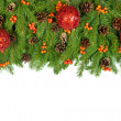Royalty-Free Stock Photo: Christmas background. Eve framework