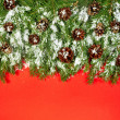 Christmas background. Eve framework - Foto Stock