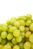 Bunch of Green Grapes laying isolated — Stock Photo