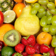 Huge group of fresh vegetables and fruits — Stock Photo #13674643