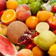 Huge group of fresh vegetables and fruits — Stock Photo #13866792