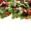 Christmas background. Eve framework - Stock Photo