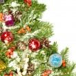 Christmas background. Eve framework - Stockfoto