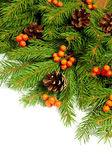 Jul bakgrund. eva ram — Stockfoto