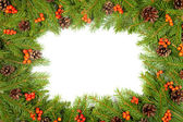 Christmas background. Eve framework — Stok fotoğraf