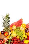 Huge group of fresh fruits — Stock Photo