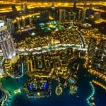 Dubai downtown. East, United Arab Emirates architecture — Stock Photo #19128497