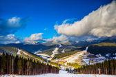 Landscape in mountains Carpathians, Ukraine — Stock Photo