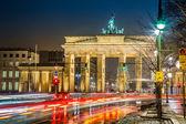 Puerta de brandenburgo, berlín, alemania. — Foto de Stock