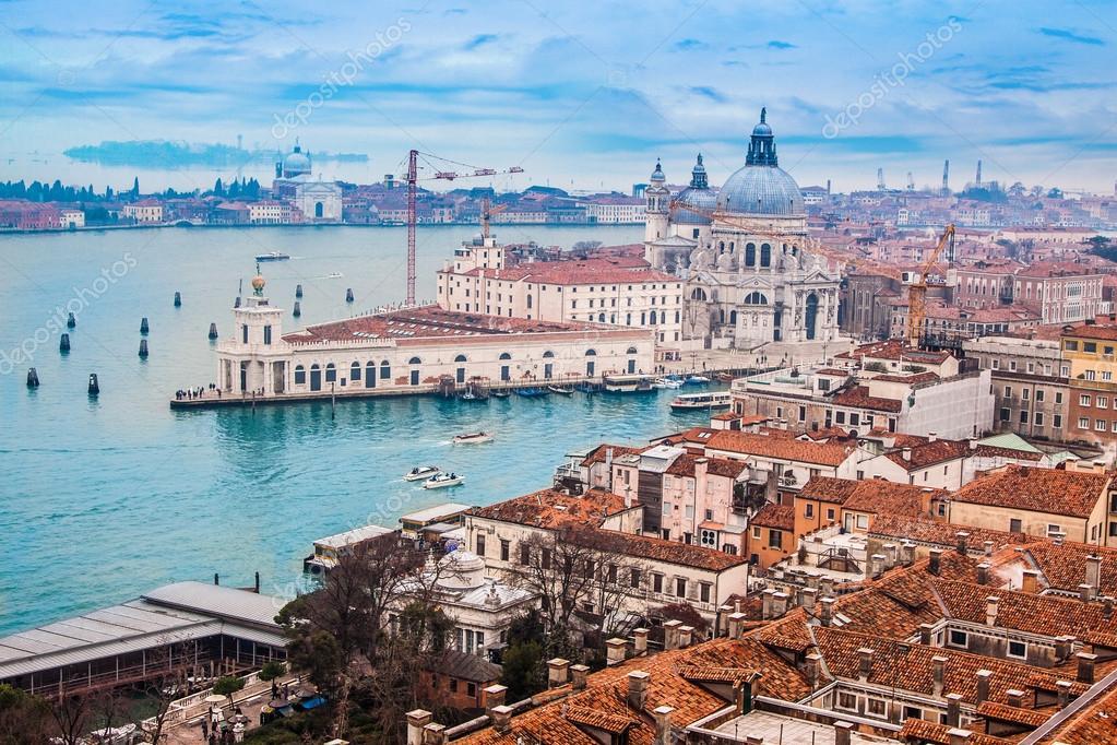 venecia desde el aire foto de stock bloodua 19128131