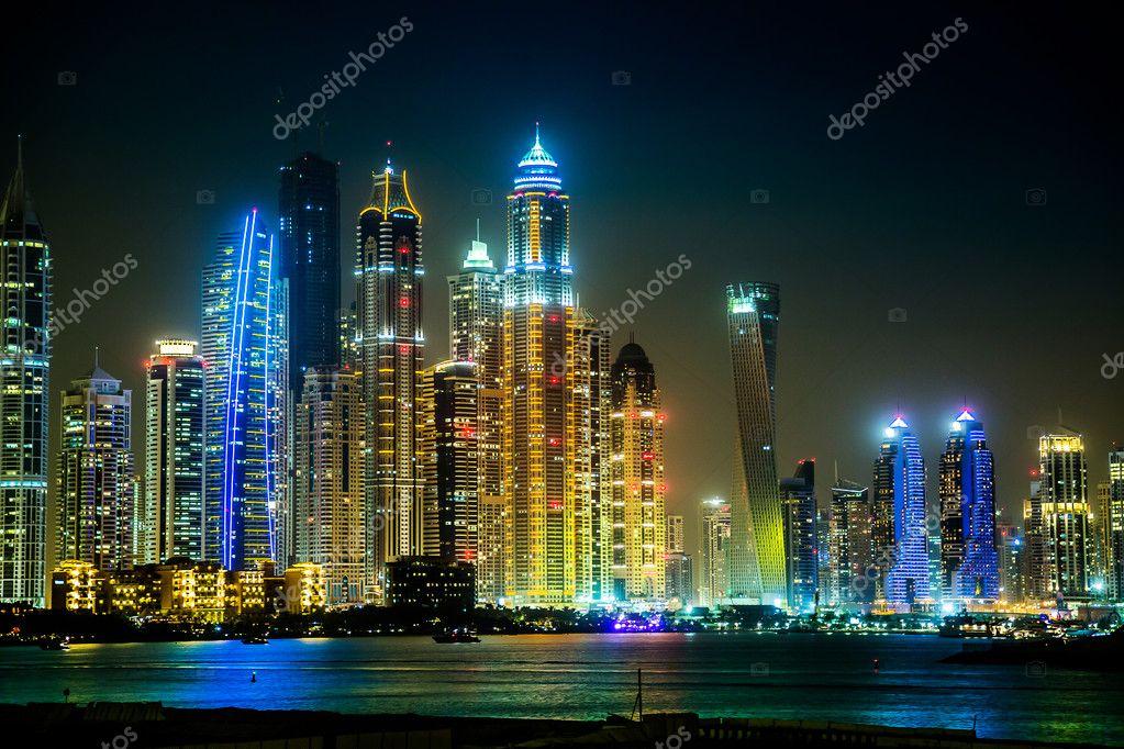 迪拜滨海城市景观,阿拉伯联合酋长国