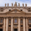St. Peter's Basilica in Vatican City in Rome, Italy. — Foto de Stock   #20125805