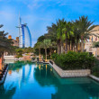 Burj Al Arab is a luxury 5 stars hotel — Stock Photo #21423241