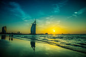 Burj Al Arab is a luxury 5 stars hotel — Stock fotografie