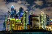 Gród Dubai marina, Zjednoczone Emiraty Arabskie — Zdjęcie stockowe