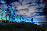 Dubai Marina cityscape, UAE — Stock Photo