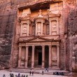 ������, ������: Al Khazneh or The Treasury at Petra Jordan