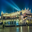 Poland, Krakow. Market Square at night. — Stock Photo #23267694