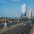 Dubai Sheikh Zayed Road - Stock Photo