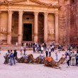Постер, плакат: Al Khazneh or The Treasury at Petra Jordan