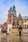 Polonia, catedral de wawel en cracovia — Foto de Stock