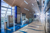Dubai Metro Terminal in Dubai, United Arab Emirates. — Stock Photo