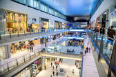 Interior View of Dubai Mall - world's largest shopping mall — Foto Stock