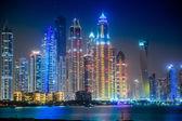 Dubai Marina cityscape, UAE — Stock Photo
