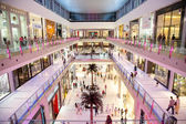 Interior View of Dubai Mall - world's largest shopping mall — Stok fotoğraf