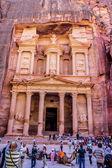 Al Khazneh or The Treasury at Petra, Jordan — Stock Photo
