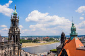 Huge panorama of Dresden, Germany — Stock Photo