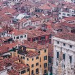 Venice from the air - Stock Photo