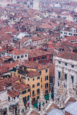 Venice from the air — Foto Stock