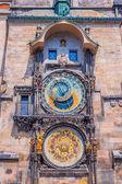 Astronomik saat'in prag çek cumhuriyeti — Stok fotoğraf